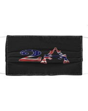 2nd amendment american flag southern mask Cloth face mask front