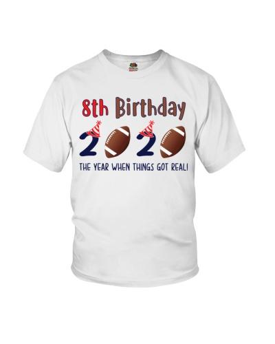 8th birthday football