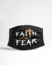 faith over fear Cloth face mask aos-face-mask-lifestyle-22