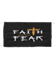 faith over fear Cloth face mask front