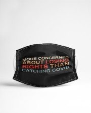 More Concerned About Losing Rights Cloth face mask aos-face-mask-lifestyle-22