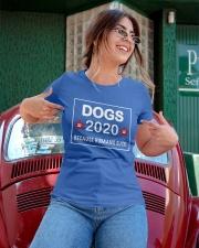 dogs 2020 because humans suck Ladies T-Shirt apparel-ladies-t-shirt-lifestyle-01