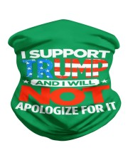 I SUPPORT TRUMP Neck Gaiter thumbnail