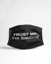 Trust Me I'm Smiling Cloth face mask aos-face-mask-lifestyle-22