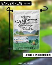 """Personalized Camping  Garden Flag 7 11.5""""x17.5"""" Garden Flag aos-garden-flag-11-5-x-17-5-lifestyle-front-08"""