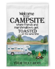 """Personalized Camping  Garden Flag 7 11.5""""x17.5"""" Garden Flag front"""