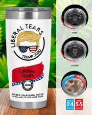 trump 2020 liberal tears all board nutrition facts 20oz Tumbler aos-20oz-tumbler-lifestyle-front-46