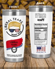 trump 2020 liberal tears all board nutrition facts 20oz Tumbler aos-20oz-tumbler-lifestyle-front-58