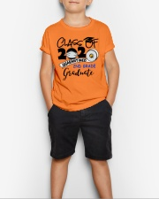 2nd grade graduate  Youth T-Shirt lifestyle-youth-tshirt-front-1