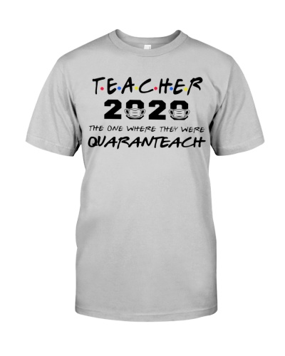 Teacher 2020 the one where they were quaranteach
