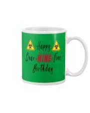 Happy Quar-Nine-Tine Birthday Mug tile