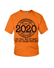 Kindergarten- Proud member of the class of 2020 Youth T-Shirt front