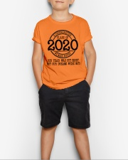 Kindergarten- Proud member of the class of 2020 Youth T-Shirt lifestyle-youth-tshirt-front-1