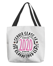 class of 2020 quarantined bracelet tee pouch All-over Tote thumbnail