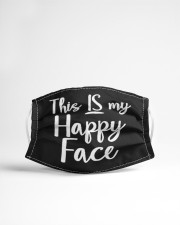 This Is My Happy Face Cloth face mask aos-face-mask-lifestyle-22