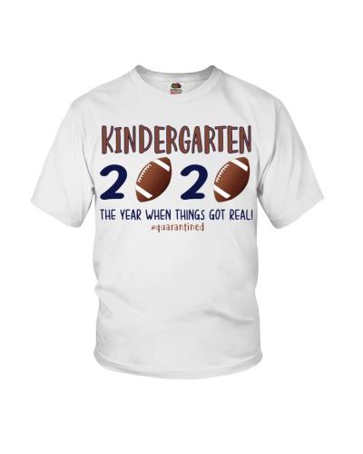 Kindergarten football 2020 quarantine