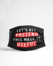 Let's All Pretend This Mask Is Useful Cloth face mask aos-face-mask-lifestyle-22
