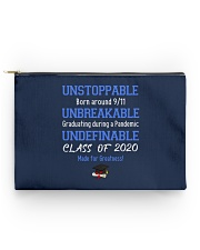 class of 2020 unstoppable mug pouch tee Accessory Pouch - Standard back