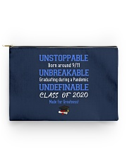 class of 2020 unstoppable mug pouch tee Accessory Pouch - Standard front