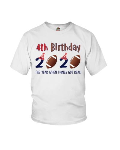 4th birthday football