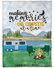 "Personalized Camping Blanket 30 Large Fleece Blanket - 60"" x 80"" thumbnail"
