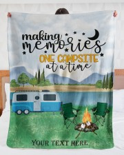 """Personalized Camping Blanket 30 Large Sherpa Fleece Blanket - 60"""" x 80"""" aos-sherpa-fleece-blanket-60x80-lifestyle-front-23"""