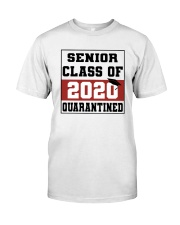 senior red Classic T-Shirt front