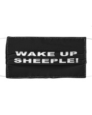 Wake up sheeple  Cloth face mask front