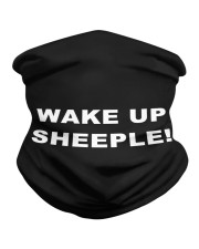 Wake up sheeple  Neck Gaiter thumbnail