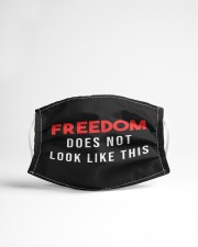 Freedom does not look like this Cloth face mask aos-face-mask-lifestyle-22
