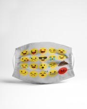 smile face Cloth face mask aos-face-mask-lifestyle-22
