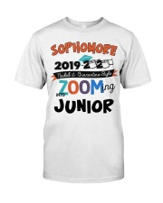 sophomore zooming into junior Classic T-Shirt front