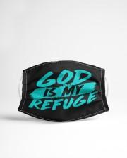 God Is My Refuge Cloth face mask aos-face-mask-lifestyle-22