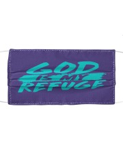 God Is My Refuge Mask tile