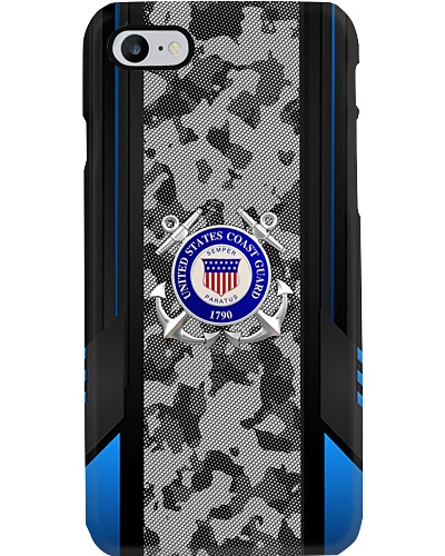 coast military limited camo carbon phone case new