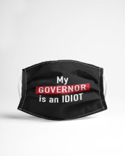 my governor is an idiot mask Cloth face mask aos-face-mask-lifestyle-22