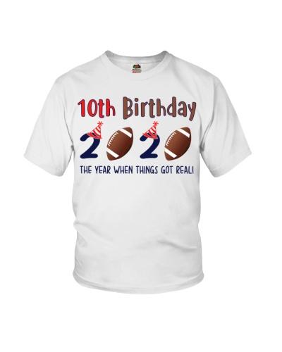 10th birthday football