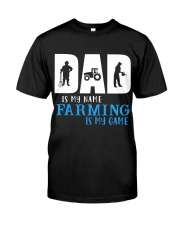 Farming dad Classic T-Shirt front
