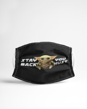 Stay black you must Cloth face mask aos-face-mask-lifestyle-22