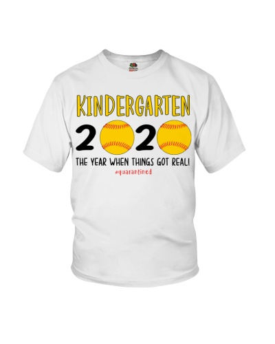 Kindergarten softball 2020 quarantine