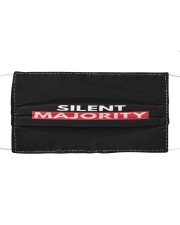 Silent Majority Cloth face mask front