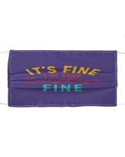 I's Fine I'm Fine Everything Fine Mask tile