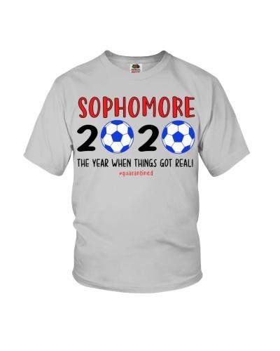 Sophomore grade soccer 2020 quarantine