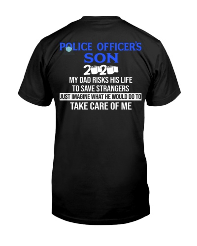 Police officer's son my DAD-2020-back