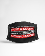 Use anything-Not Safety-Not Compliance Cloth face mask aos-face-mask-lifestyle-22