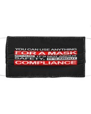 Use anything-Not Safety-Not Compliance Cloth face mask front