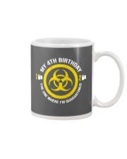 My 4Th Birthday-Quarantined Mug tile