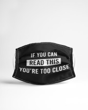 If you can read this you're too close Cloth face mask aos-face-mask-lifestyle-22