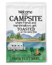 """Personalized Camping  Garden Flag 1 11.5""""x17.5"""" Garden Flag front"""