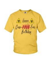 Happy Quar-Four-Tine Birthday Youth T-Shirt tile